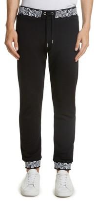 Men's Versace Jeans Contrast Print Jogger Pants $275 thestylecure.com