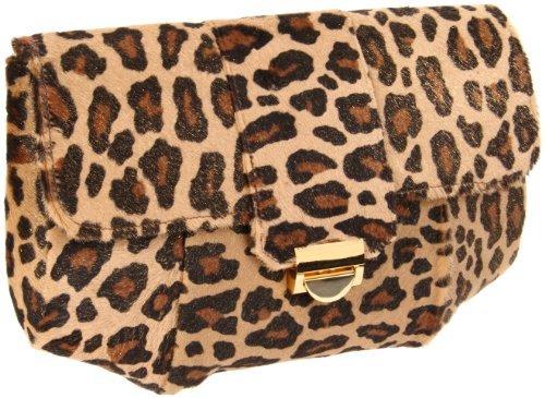 Lauren Merkin Blair Leopard Clutch