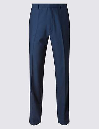 M&S Collection Big & Tall Indigo Slim Fit Trousers