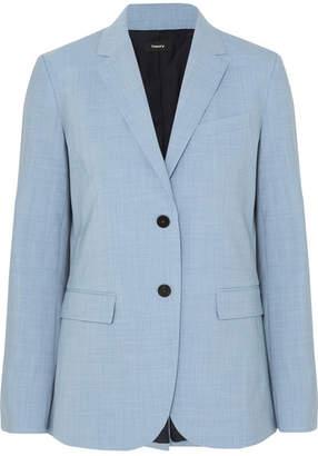 0812a8ccad Theory Classic Stretch-wool Blazer - Light blue