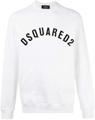 DSQUARED2 vintage logo pocket sweatshirt