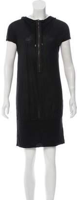 Tomas Maier Hooded Mini Dress