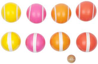 Sunnylife Malibu Bocce Set - Pink/Orange