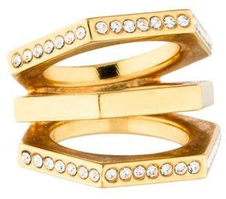 Vita Fede Hexagonal Pavé Statement Ring
