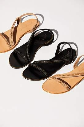 Fp Collection Crystal Cape Sandal