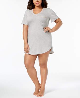 Cosabella Bella Plus Size Striped-Trim Sleepshirt AMORE2741P