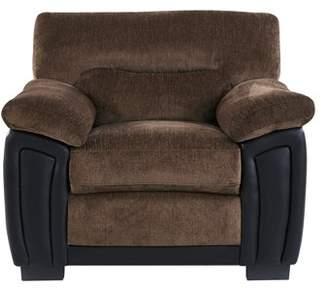 Global Furniture USA Global Furniture Coffee/Brown Two Tone Chair