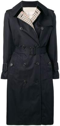 MACKINTOSH Ink Colour Block Cotton Trench Coat LM-062BS/CB