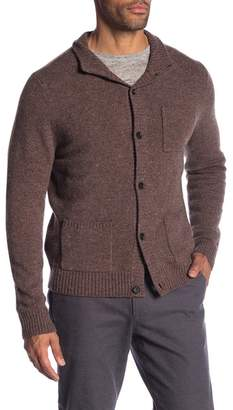 Brooks Brothers Merino Wool Button Cardigan