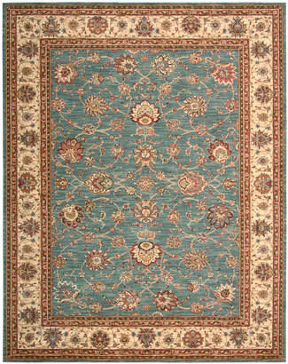 "Nourison Closeout! Area Rug, Created for Macy's, Persian Legacy PL02 Azure 5' 6"" x 8' 3"""