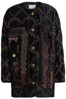 Peter Pilotto Embroidered Velvet Jacket