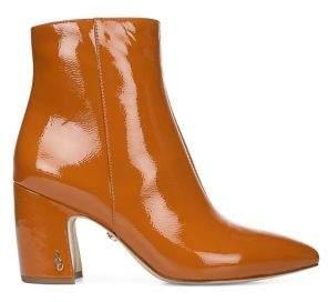 Sam Edelman Trailblazer Hilty Leather Heeled Booties