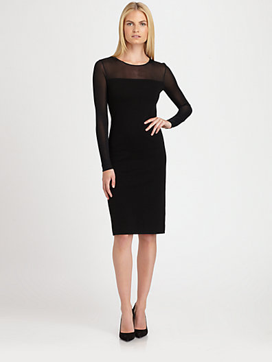 Ralph Lauren Black Label Illusion Dress