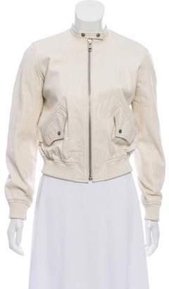 Nili Lotan Leather Biker Jacket