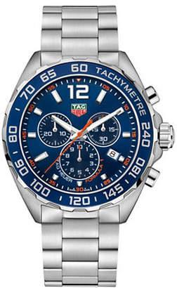 Tag Heuer Chronograph Formula 1 CAZ1014.BA0842 Steel and Black Ceramic Bracelet Watch