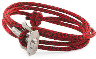 Made In Great Britain 925 Union Rope Anhor Bracelet