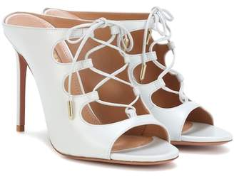 Aquazzura Flirt leather sandals