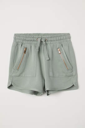 H&M Shorts with Zips - Green