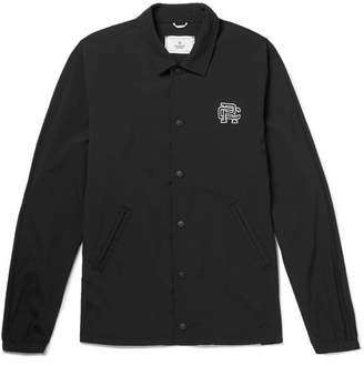Reigning Champ Printed Stretch-Shell Coach Jacket