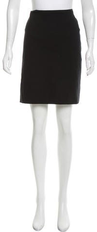 Armani Collezioni Fitted Knee-Length Skirt