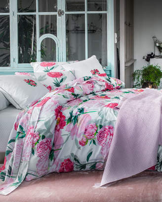 Anne De Solene Leonie 200 Thread-Count Floral Queen Duvet Cover