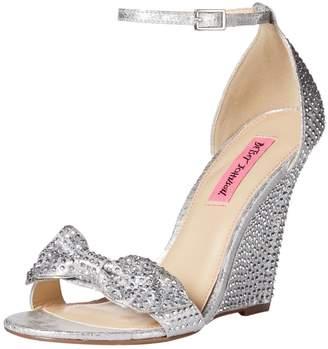 Betsey Johnson Women's Delancyy Wedge Sandal