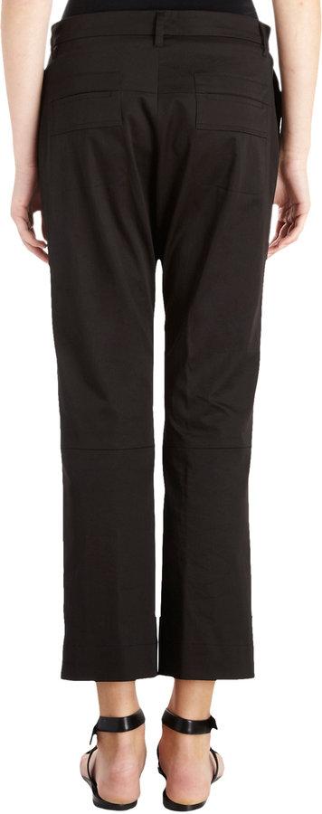 Jil Sander Rocco Cropped Pants