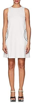 Lisa Perry Women's Ponte A-Line Dress - White