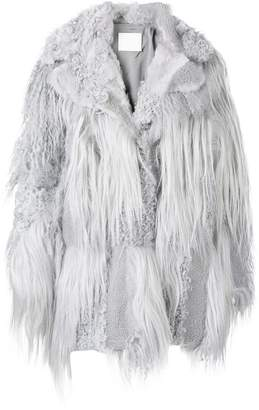 Drome oversized fur coat