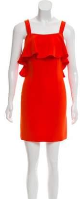 Rachel Zoe Ruffle-Trimmed Mini Dress w/ Tags