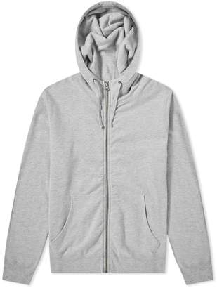 Save Khaki Fleece Zip Hoody