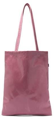 Farah Sies Marjan Crinkle Laminated Vinyl Tote Bag - Womens - Pink