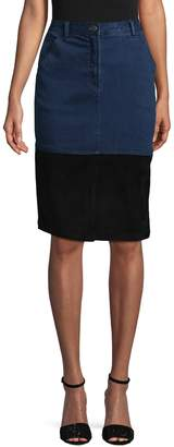 Plenty by Tracy Reese Women's Pencil Cotton Skirt