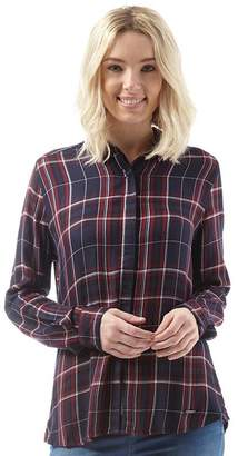 Superdry Womens Overall Shirt Alaska Ruby Check