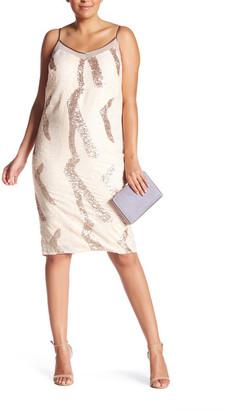 ABS by Allen Schwartz Squin Slip Dress (Plus Size) $239.97 thestylecure.com