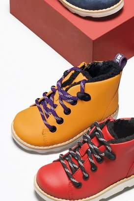 Clarks Boys Yellow Crown Tor T Boots - Yellow