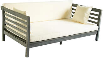 """One Kings Lane Outdoor Sandy 73"""" Day Bed - Gray"""