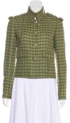 Chanel Tweed Houndstooth Jacket