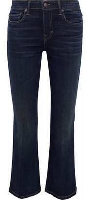 Vince Cropped Mid-Rise Bootcut Jeans