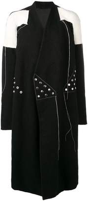 Rick Owens studded coat