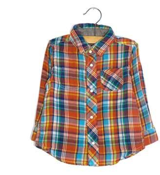 Bit'z BIT'Z KIDS - Baby Boy's Gauze Reversible Shirt