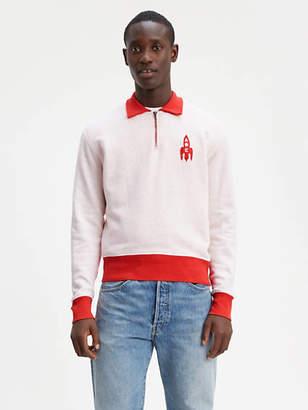 Levi's 1950's Half Zip Fleece Sweatshirt