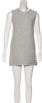 Akris Cashmere Mini Dress