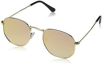 South Beach Women's Round Lens and Frame Sunglasses