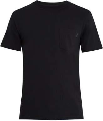 A BRILLIANT BRAND Crew-neck patch-pocket T-Shirt