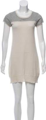James Perse Short Sleeve Mini Dress