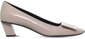 Roger Vivier Belle Vivier patent-leather court shoes