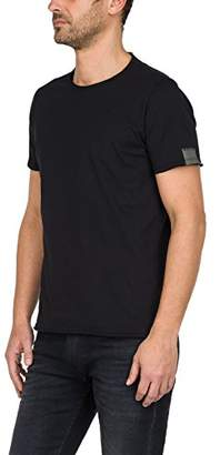 Replay Men's M3590 .000.2660 T-Shirt, (Black 98)