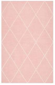 nuLoom Kinderloom Hand Tufted Geometric Print Wool Rug