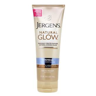 Jergens Natural Glow Firming Daily Moisturiser Fair to Medium 221 mL
